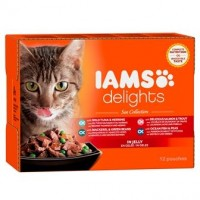 Iams Delights Katzennassfutter See Collection in Gelee
