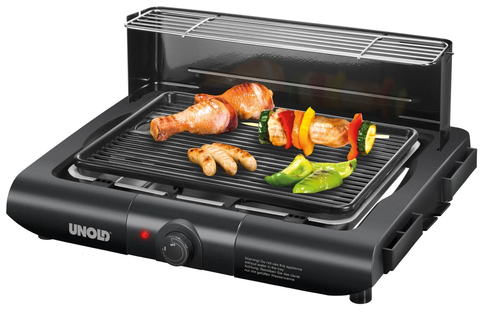Beste Elektrogrill Standgrill : Unold barbecue elektrogrill vario schwarz w standgrill
