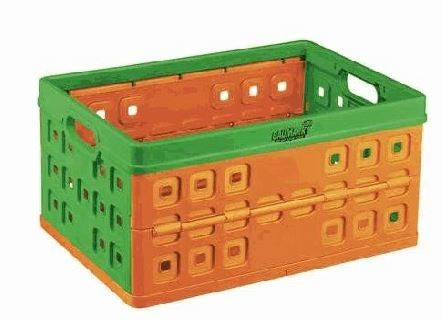 Klappbox 46 l ´´orange/grün´´