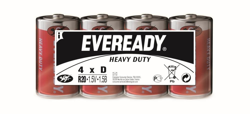Energizer Eveready Heavy Duty