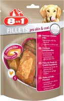 8in1 Hundesnack Fillets Pro Skin & Coat