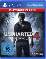 PS-4 Spiel Uncharted 4 A Thief's End