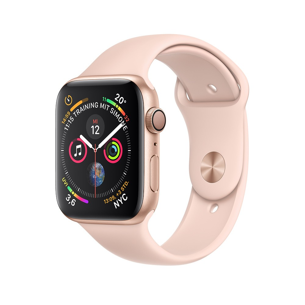 Apple Watch Series 4 GPS 40mm Gold Alu Sport Band Sandrosa