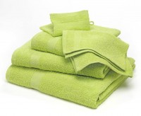 Duschtuch uni, lime
