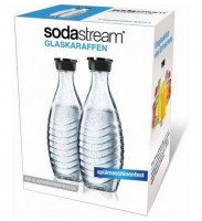 Sodastream Glaskaraffe Duo-Pack 0,6 Ltr.