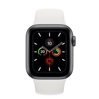 Apple Watch Series 5 GPS weiß