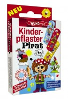 Wundmed Kinderpflaster Piraten