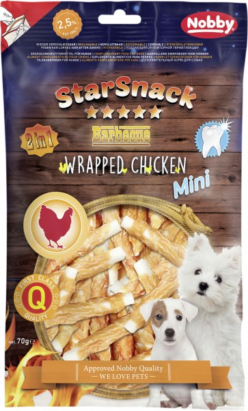 nobby-starsnack-puppy-small-wrapped-chicken-113-g