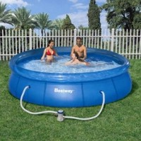 Bestway Quick Up Pool Set Ø 366 cm,  Höhe 76 cm